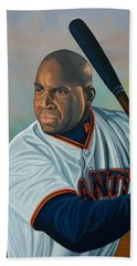 Barry Bonds Beach Towel