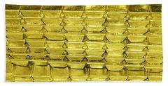 Bars Of Gold Beach Towel