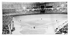 Baseball: Astrodome, 1965 Beach Towel