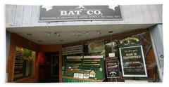 Baseball Retail Store Cooperstown Ny Beach Towel