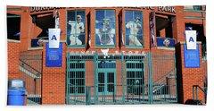 Baseball Stadium Beach Sheet
