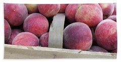 Basket Of Peaches Beach Sheet