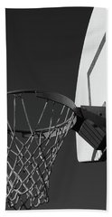 Beach Towel featuring the photograph Basketball Court by Richard Rizzo