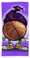 Basketball Wizard Beach Towel