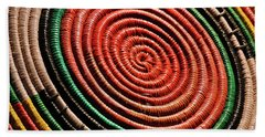 Basketry Color Beach Towel