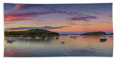Bass Harbor Beach Towel