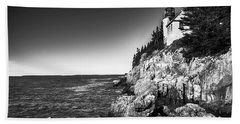 Bass Harbor Head Lighthouse Beach Sheet