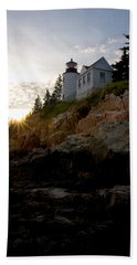 Bass Harbor Lighthouse 1 Beach Towel