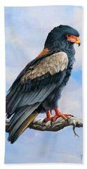Bateleur Eagle Beach Towel by Anthony Mwangi