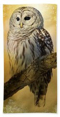 Bathed In Light  Beach Towel by Heather King