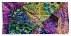 Batik Butterfly Beach Sheet