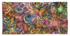 Batik Colorburst Beach Towel