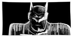 Batman..... V2.17 Beach Towel by Jason Nicholas