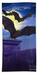 Batsfly Beach Towel