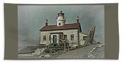 Battery Point Lighthouse Beach Sheet