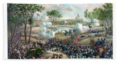 Battle Of Cold Harbor Beach Towel