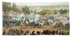Battle Of Gettysburg Beach Towel