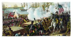 Battle Of New Orleans Beach Towel
