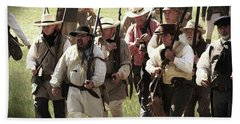 Battle Of San Jacinto Beach Towel