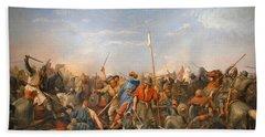 Battle Of Stamford Bridge Beach Towel