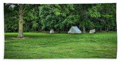 Battlefield Camp 2 Beach Towel