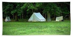 Battlefield Camp Beach Towel