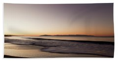 Bay At Sunrise Beach Towel