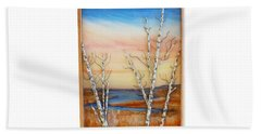 Bay Birch Beach Towel