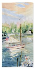 Bay Lady  Beach Towel