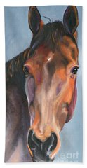 Thoroughbred Royalty Beach Towel