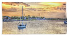 Bayfront Sunset Beach Sheet
