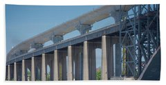 Bayonne Bridge Raising #5 Beach Towel