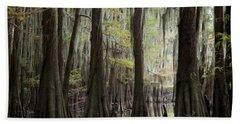 Bayou Trees Beach Towel