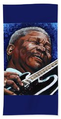 Bb King Beach Sheet by John Lautermilch
