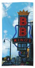 Bb Kings Beach Towel