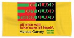 Be Black Rbg Beach Sheet