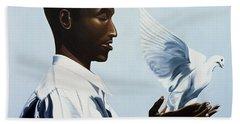 Be Free Three Beach Towel by Kaaria Mucherera