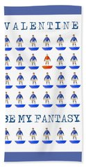 Be My Fantasy Beach Towel by John Colley