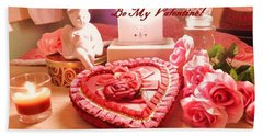 Be My Valentine Beach Towel