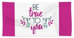 Be True To You Beach Sheet