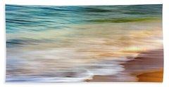 Beach Abstract Beach Towel