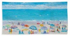 Beach Art - Fun In The Sun Beach Sheet by Jan Matson