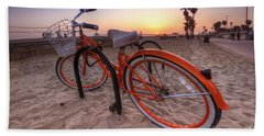 Beach Bike Beach Sheet