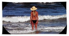 Beach Sheet featuring the photograph Beach Blonde .png by Al Powell Photography USA