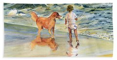 Beach Buddies Beach Sheet by Melly Terpening