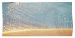 Beach Caress Beach Sheet by Glenn Gemmell