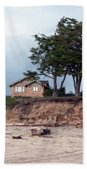 Beach Sheet featuring the photograph Beach Cottage by Haleh Mahbod