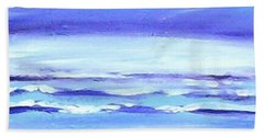 Beach Dawn Beach Towel by Winsome Gunning