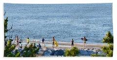 Beach Fun At Cape Henlopen Beach Towel