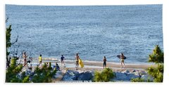 Beach Fun At Cape Henlopen Beach Sheet